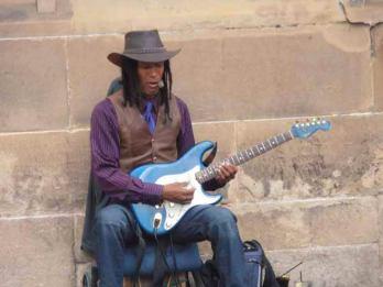 Singing the blues at Edinburgh Fringe