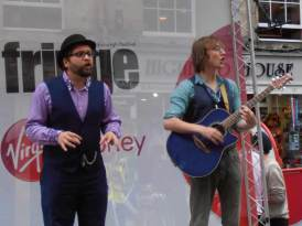 Music and Dialogue at the Edinburgh Fringe
