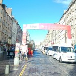 Edinburgh Fringe in the Morning