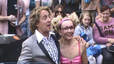 Kiki and Pascal Performing at the Edinburgh Fringe