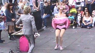 Kiki and Pascal Performing at the Edinburgh Fringe