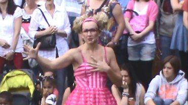 Kiki Winning the Hearts of the Crowd at the Edinburgh FRinge