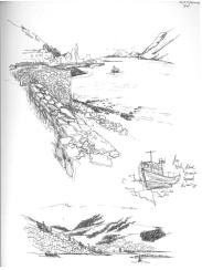 Sketches from Fort William, overlooking the loch and city