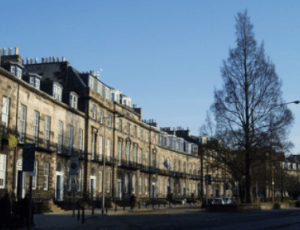 Coates Crescent, in Edinburgh's New Town