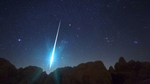 A massive Geminid fireball from 2009's shower, one of the brightest ever recorded (NASA)