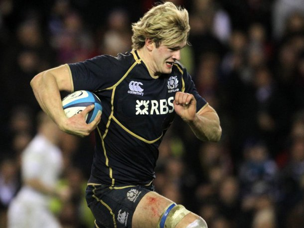 Richie Gray wins his 26th Cap © AOL/SRU