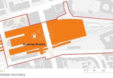 Our response to the Waverley Station masterplan strategy options consultation.