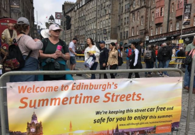 Summertime Streets : this is what one Old Town resident wrote the City of Edinburgh Council