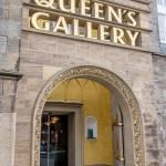 The Queen's Gallery Doorway Edinburgh