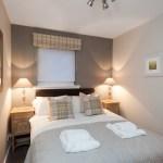 double bedroom showing full room