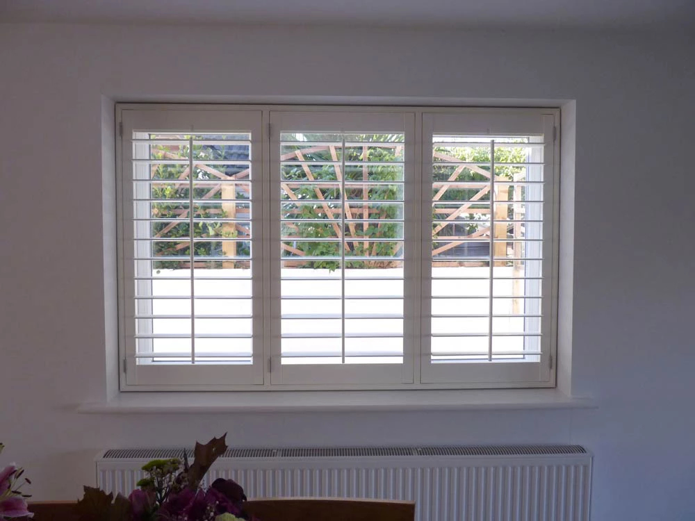 Custom fit bedroom shutters Edinburgh Shutters
