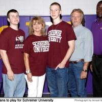 Ryan Evans, McAllen High School basketball star, commits with Schreiner University in Kerrville