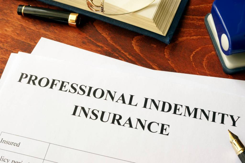 Canva Professional Indemnity Insurance Policy On A Table. Scaled