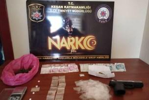 Keşan'da uyuşturucu madde ticaretine darbe