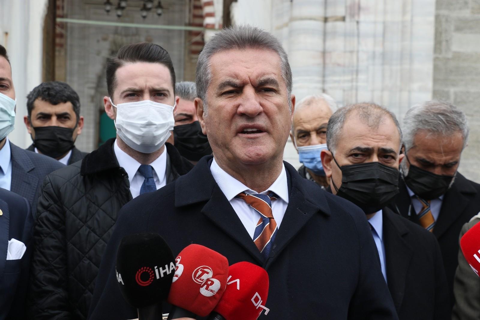 TDP Genel Başkanı Sarıgül'den 'Amiral' yorumu