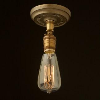 Brass Batten Holder Edison E26