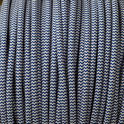 Pulley cord 3 Core cloth covered Flex 120V
