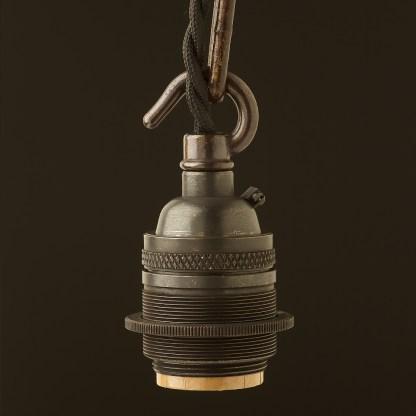 Bronze E26 E26 Chain Hook Pendant Socket