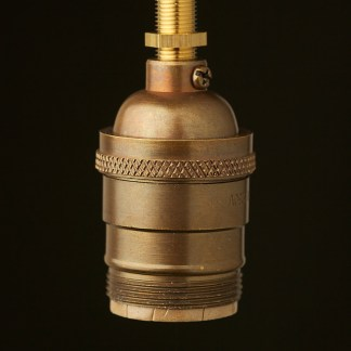 Antique Brass E26 Standard Socket