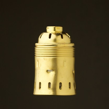 GES New Brass socket