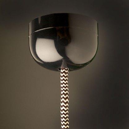 Edison style light bulb and Vintage Bakelite fitting