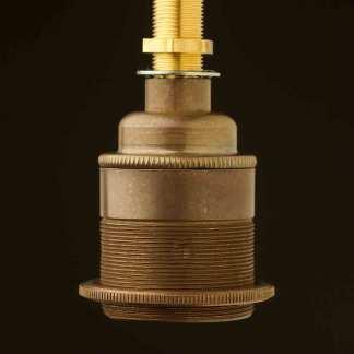 Brass Threaded Lampholder Edison E27 fitting