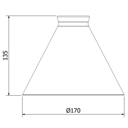 Coolie Shade Glass