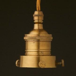 Brass 2.25 inch Cast Gallery Lampholder