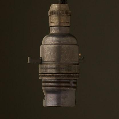 Bronze Switched Lampholder Bayonet B22 fitting