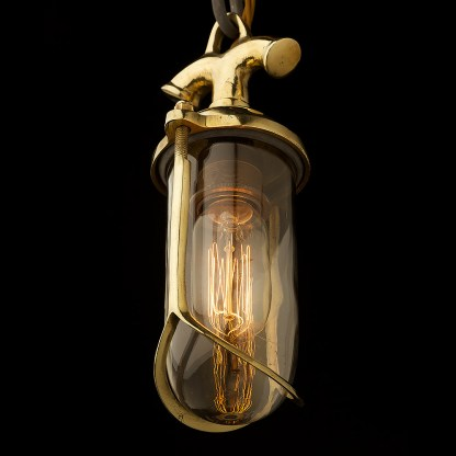 Brass Fishmouth Explosion proof pendant