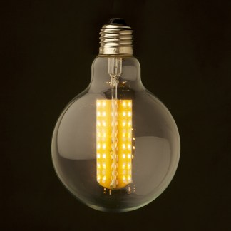 6 Watt Dimmable LED E27 Clear 95mm round