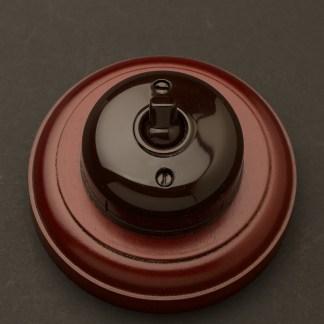 Bakelite single light switch 10 Amp