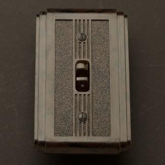 Bakelite Art Deco single switch