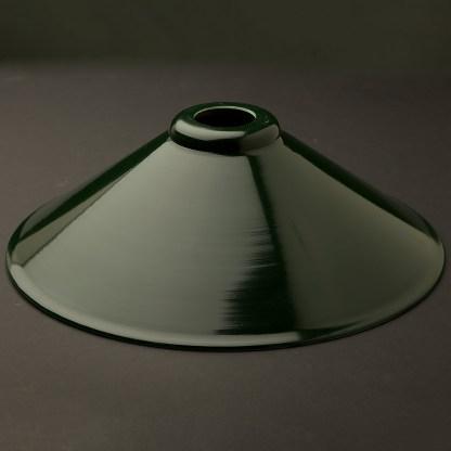 Dark green light shade 310mm