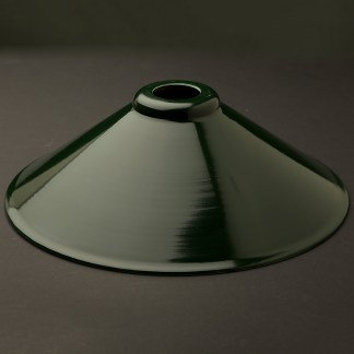 Dark green light shade 310mm