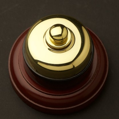 Traditional Brass and porcelain Dimmer