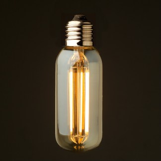 6 Watt Dimmable lantern filament LED E27 short tube bulb