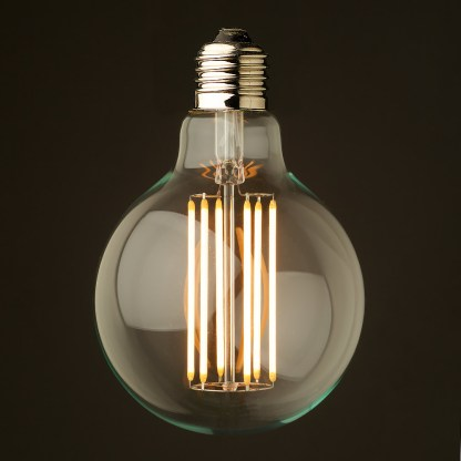 6 Watt Dimmable Filament LED E27 G95
