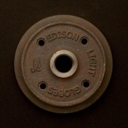 Cast iron flange plate