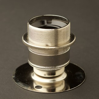 Short E27 Nickel Batten Holder