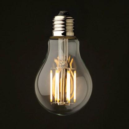 5 Watt Dimmable Lantern Filament LED E27 Clear GLS