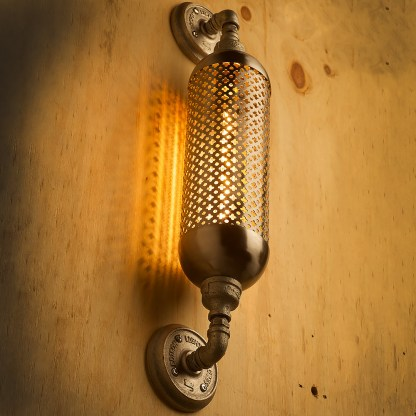 Industrial Club&round wall guard tube light