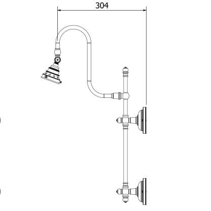 Bronze Adjustable Arm Wall Mount Shade