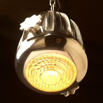 Aluminium spotlight pendant lens