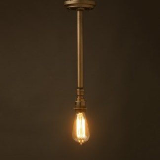 Single drop Plumbing pipe E27 ceiling light