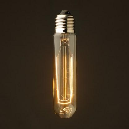 Vintage Edison 125mm Tube Filament Bulb E27