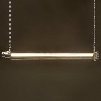 1400 mm Vintage glass explosion proof cast aluminium light