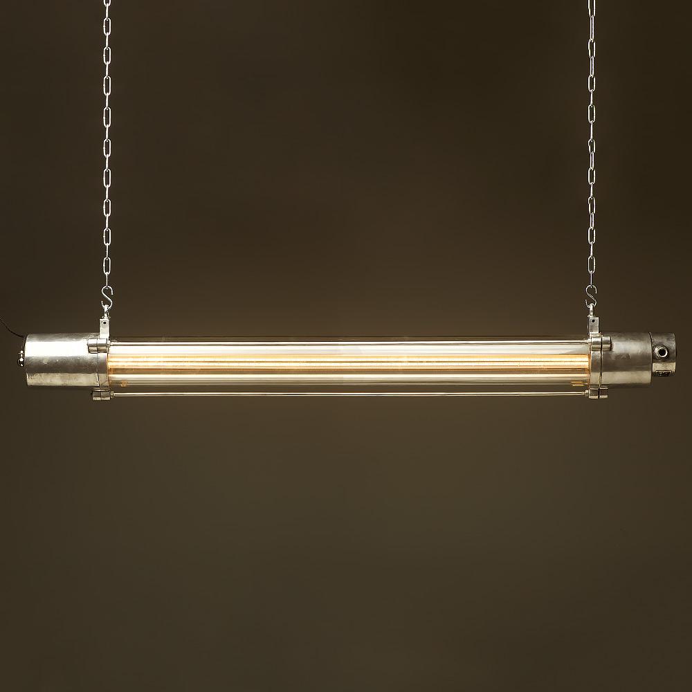 Astounding 1570 Mm Vintage Glass Explosion Proof Cast Aluminium Light Edison Wiring Database Cominyuccorg