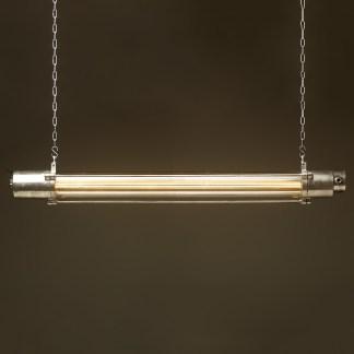 1570 mm Vintage glass explosion proof cast aluminium light