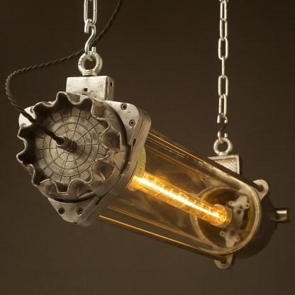 800 mm Vintage glass explosion proof cast aluminium light LED tube globe